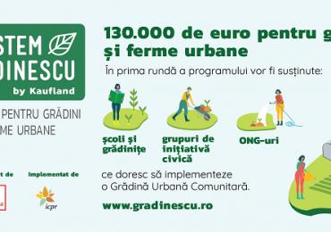 Program de finanţare pentru dezvoltarea grădinilor şi fermelor urbane