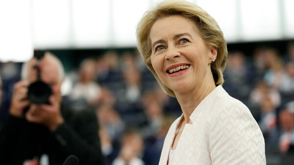 Ursula von der Leyen, noul preşedinte al Comisiei Europene