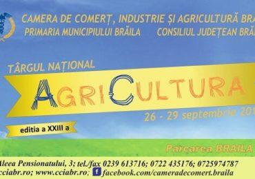 Târg agricol la Brăila