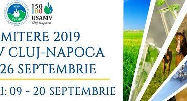 Admitere la USAMV Cluj-Napoca, sesiunea de toamnă: 552 de locuri la nivel de licenţă, dintre care 196 bugetate