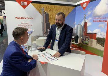 Antti-Teollisuus îşi prezintă la Agritechnica noul uscător mobil