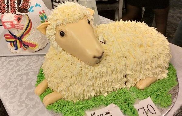 VIDEO: Petre Daea a primit un tort în formă de oaie. Ministrul demis al agriculturii împlineşte astăzi 70 de ani