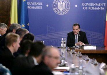 Guvernul se reuneşte astăzi în prima şedinţă de la instituirea stării de urgenţă în România