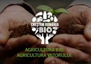 """Fermierii interesaţi de conversia la agricultura ecologică se pot înscrie în programul """"Creştem România Bio"""""""