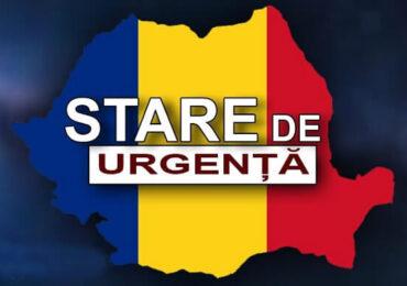 Ultima zi a stării de urgenţă pe teritoriul României
