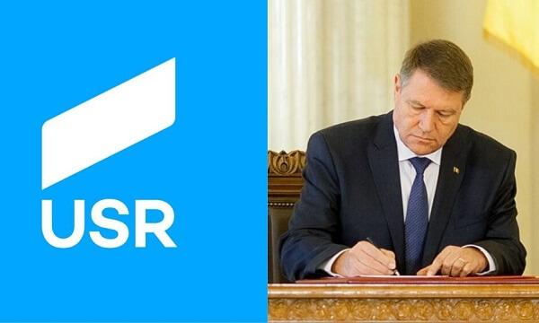 USR îi cere preşedintelui Klaus Iohannis să promulge Legea mirosurilor
