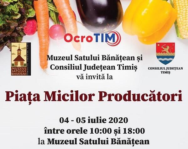 Piaţa Micilor Producători, la a doua ediţie